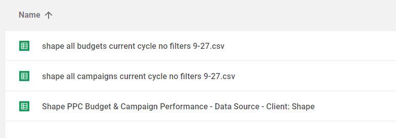 Holy Sheet! Shape PPC Reporting with Google Data Studio \u2014 Shape Blog