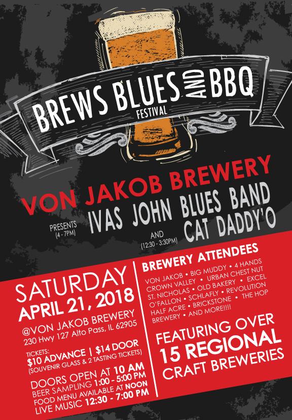 Brews Blues  BBQ 2018 Von Jakob Winery  Brewery Southern