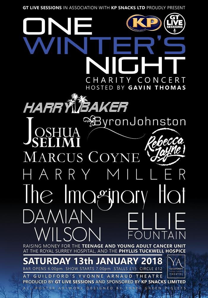 One Winter\u0027s Night \u002718 \u2014 Gavin Thomas - poster on line