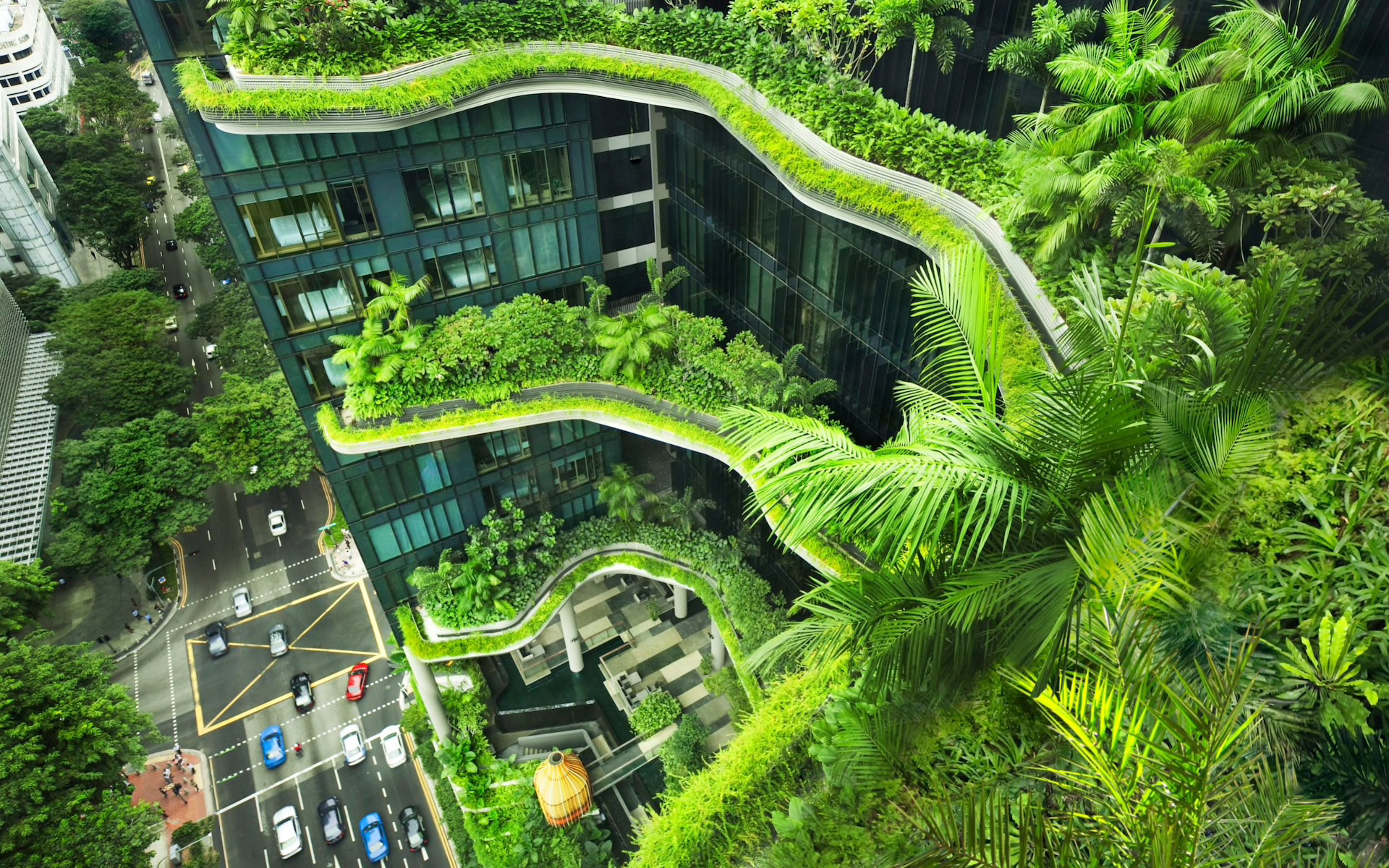 Pretentious Planted Is This Future Our Cities Or Just An News Contract Furnishings News Fantasy Garden Design garden Fantasy Garden Designs