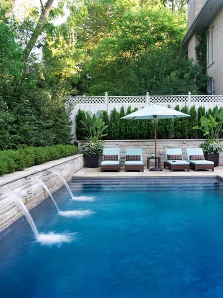 Garden Design Ideas For Small Triangular Gardens 40 Fantastic Outdoor Pool Ideas — Renoguide - Australian