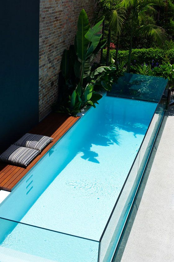 C Side Zwembad 40 Fantastic Outdoor Pool Ideas — Renoguide - Australian