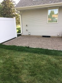 How to Make a DIY Pea Gravel Patio | Modern Chemistry at Home