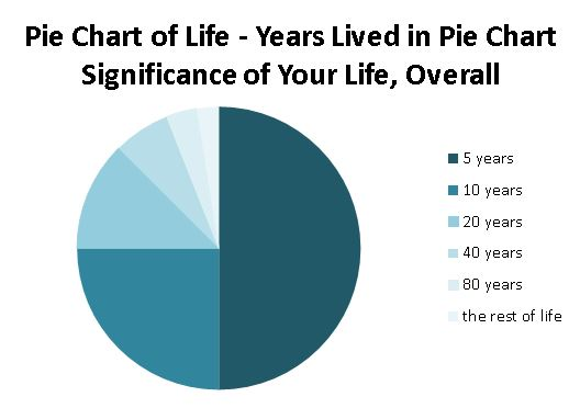 Does Time Really Slow Down as You Get Older? The Pie Chart of Life