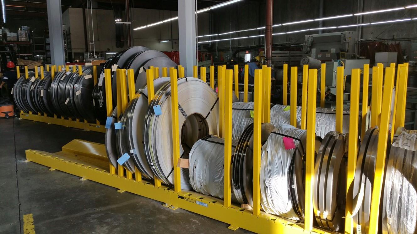 Steel Coil Storage Racks Listitdallas