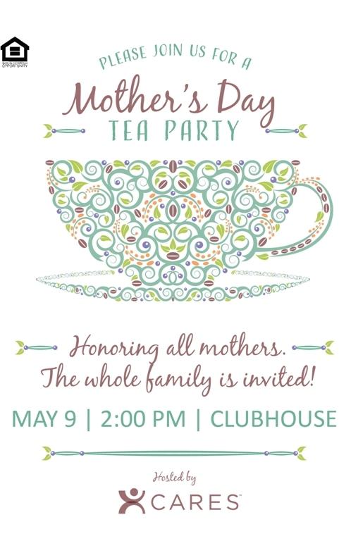 CARES Team Request Mother\u0027s Day Tea \u2014 The Idea Blog