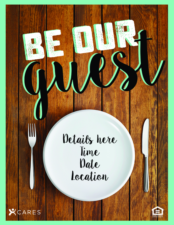 Generic Dinner Party Flyer \u2014 The Idea Blog - Dinner Flyer