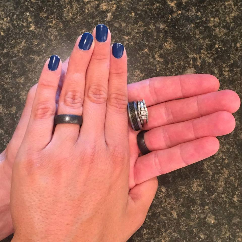 silicone wedding ring vs metal ring pros cons safety wedding band To learn more about the potential risk of wearing a metal band read Titanium Wedding Ring Time to Switch to a Rubber Wedding Band