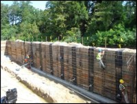 Pinnacle Design/Build Group, Inc. - Composite Retaining Walls