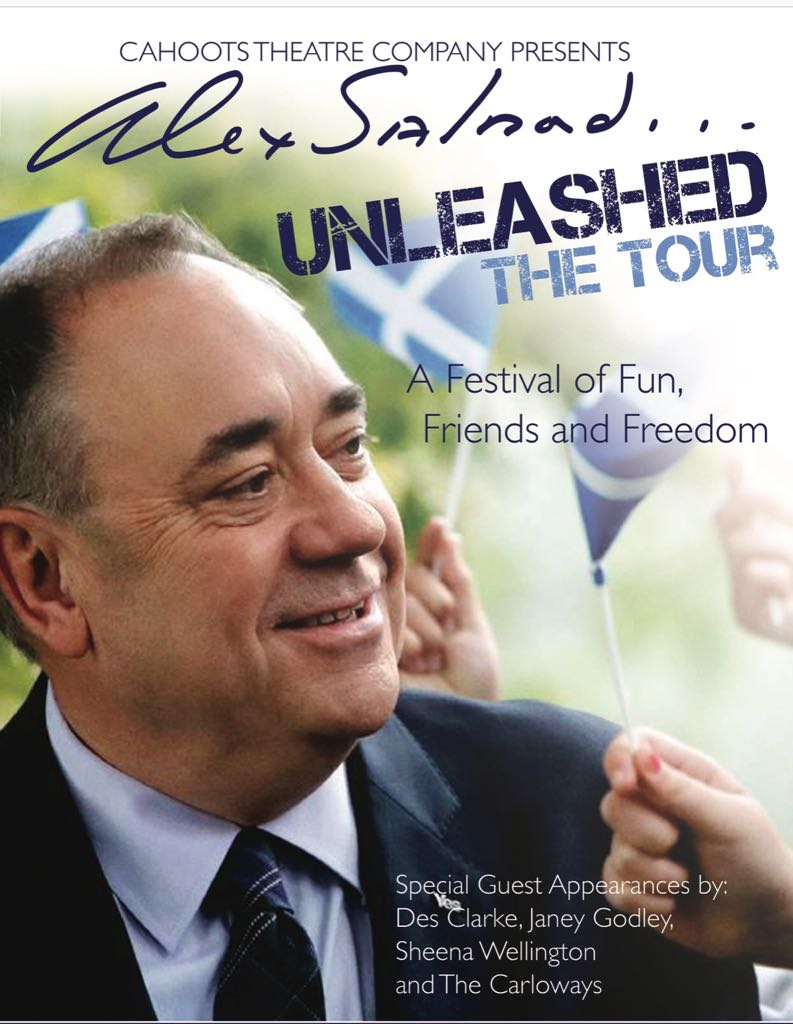 Tivoli Theatre Edinburgh Alex Salmond Unleashed Goes On Tour Alex Salmond