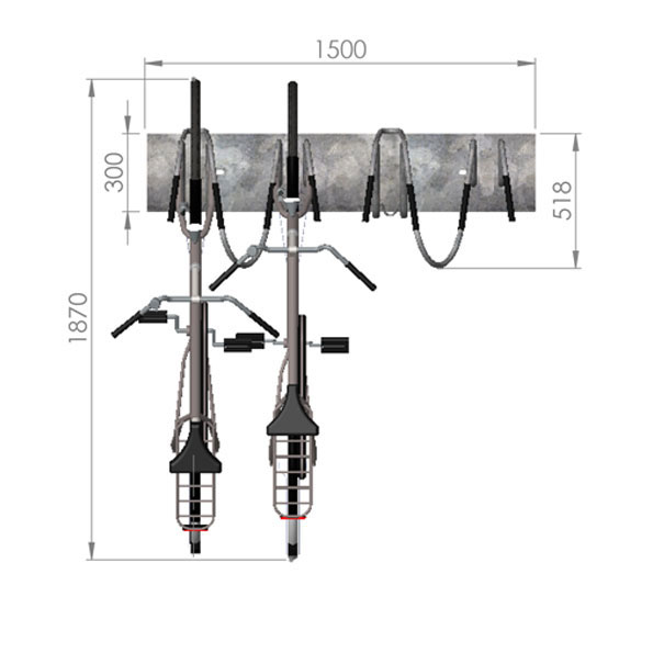 Dimension Bike Rack Plan Pictures To Pin On Pinterest