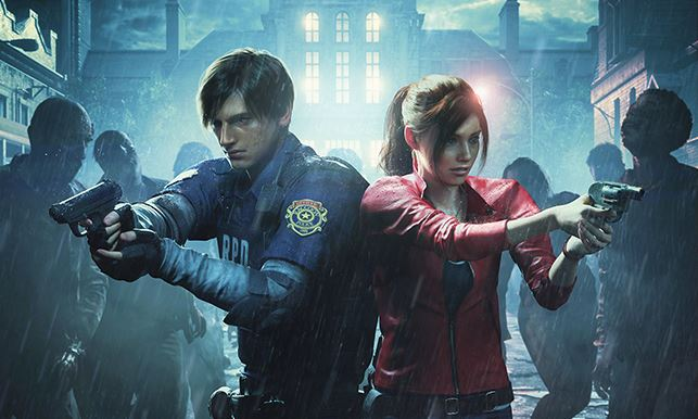 Leon S Kennedy Hd Wallpaper Capcom Revealed Details On Resident Evil 2 Remake And The
