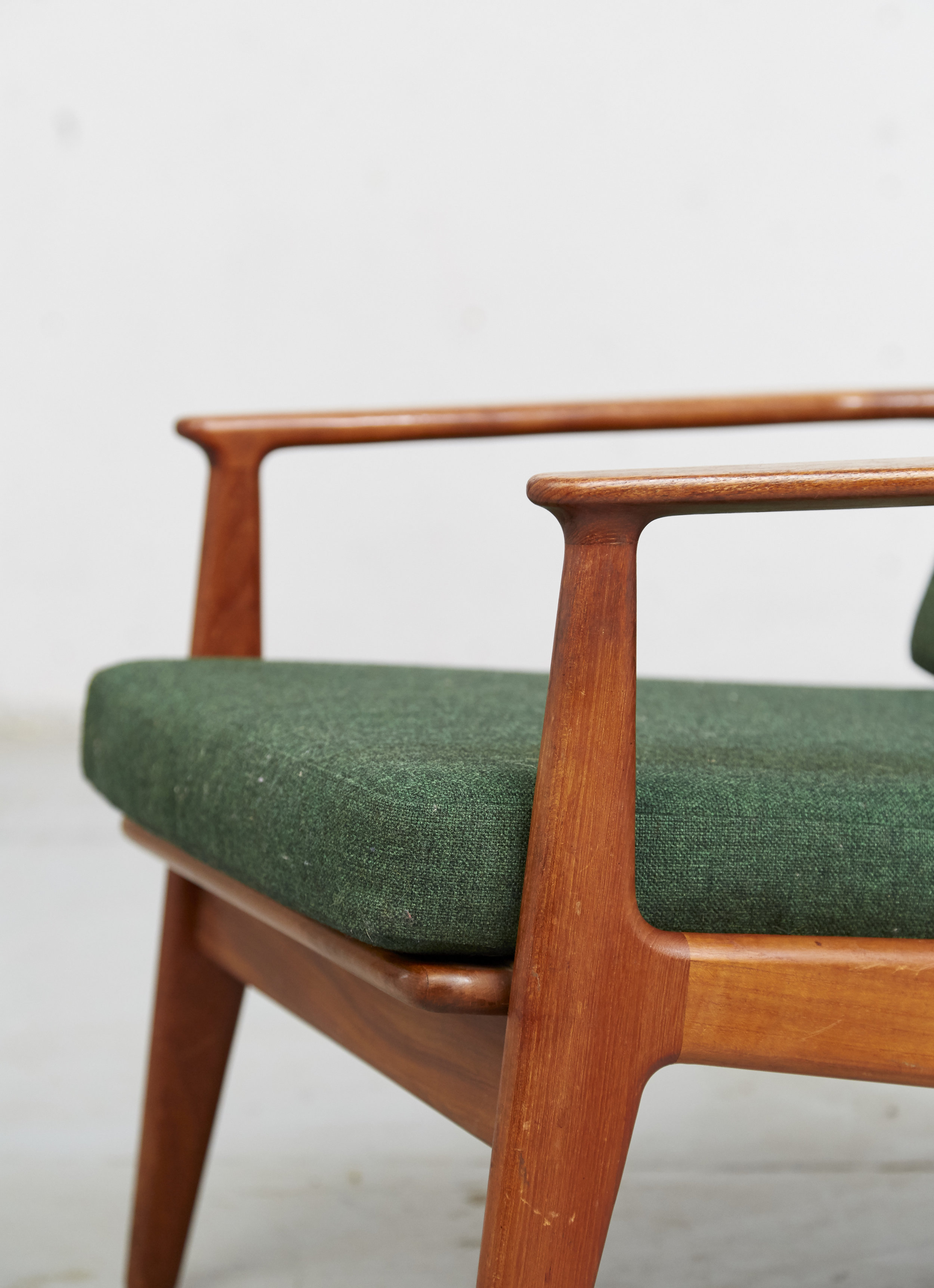 Arne Vodder Sessel Sold Arne Vodder Easy Chair Modell 6 Für Vamo Sønderborg