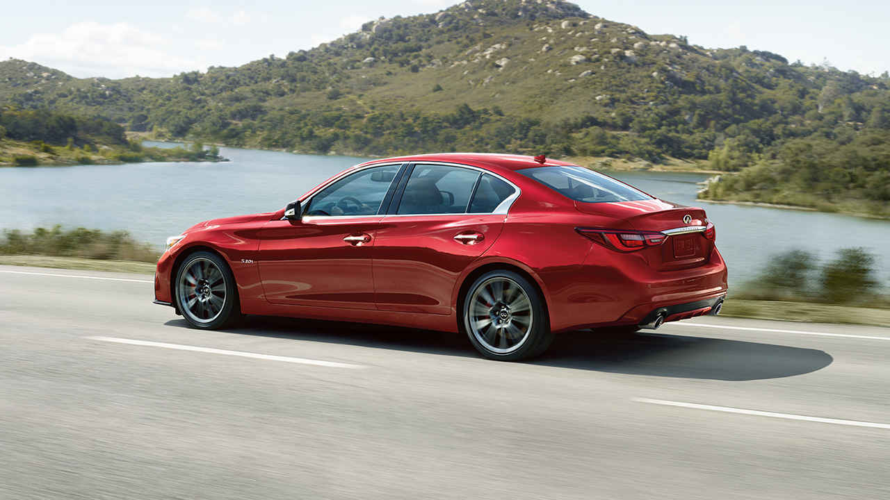 To INFINITI And Beyond Lease The 300-Horsepower Q50 Sedan For $300