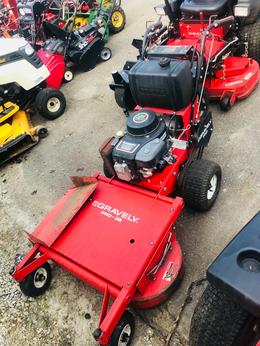 Used Snow Blowers Gravely Prowalk 36