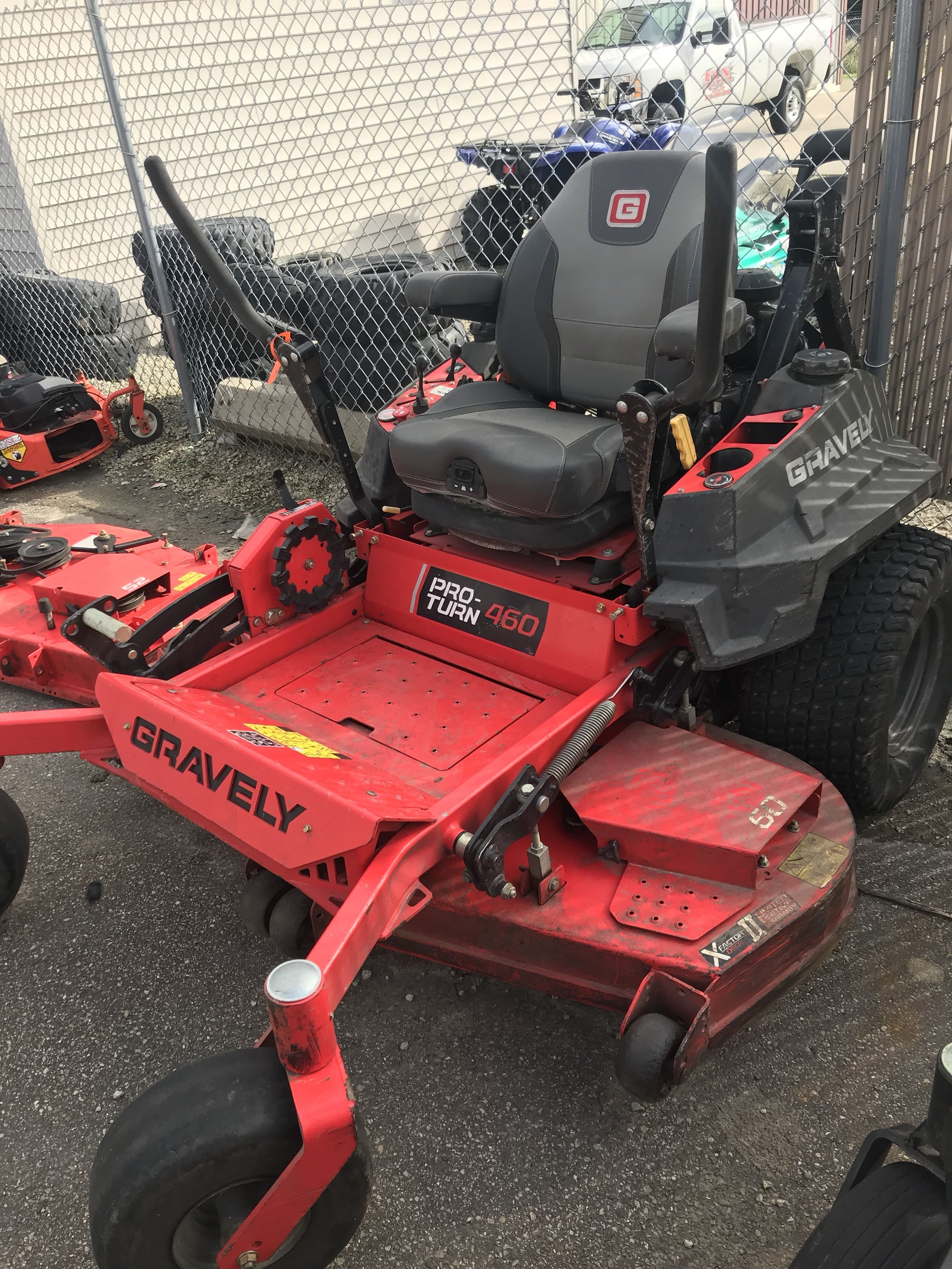 Used Snow Blowers Gravely Proturn 460