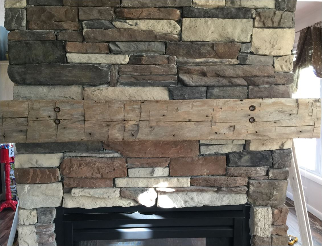 Fireplace Beam Mantel 8