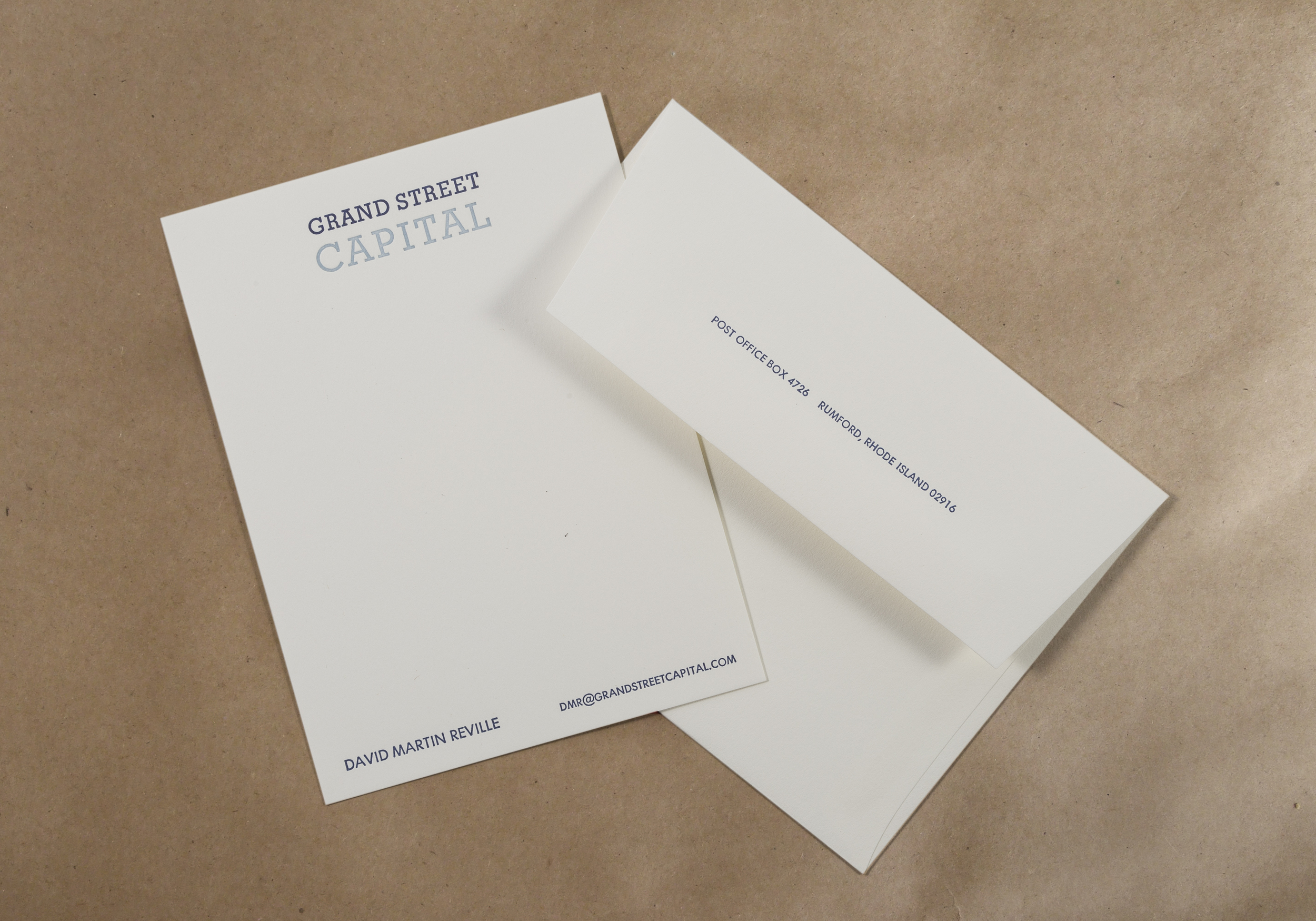 Stationery \u2014 DWRI Letterpress