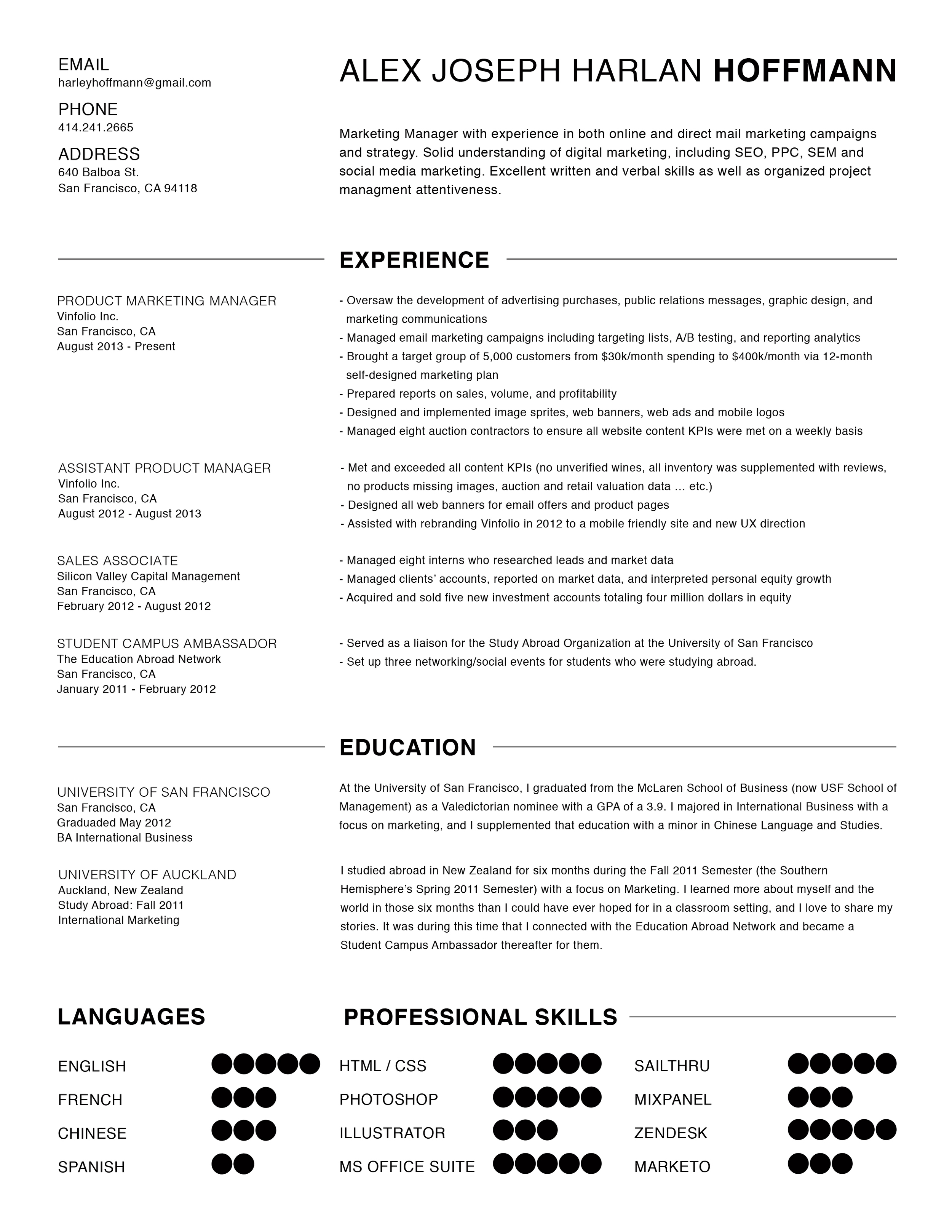 fire safety engineer sample resume construction manager sample 2 years of ajhhoffmannresumebw cover letter for resume - Product Safety Engineer Sample Resume