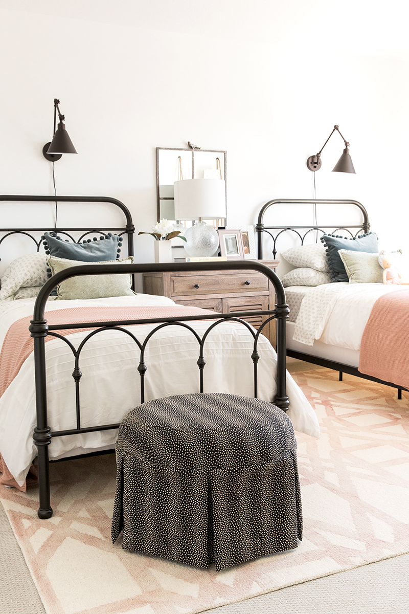 Modern Girls Bedrooms The Classic But Modern Farmhouse Part Two Akin Design Studio