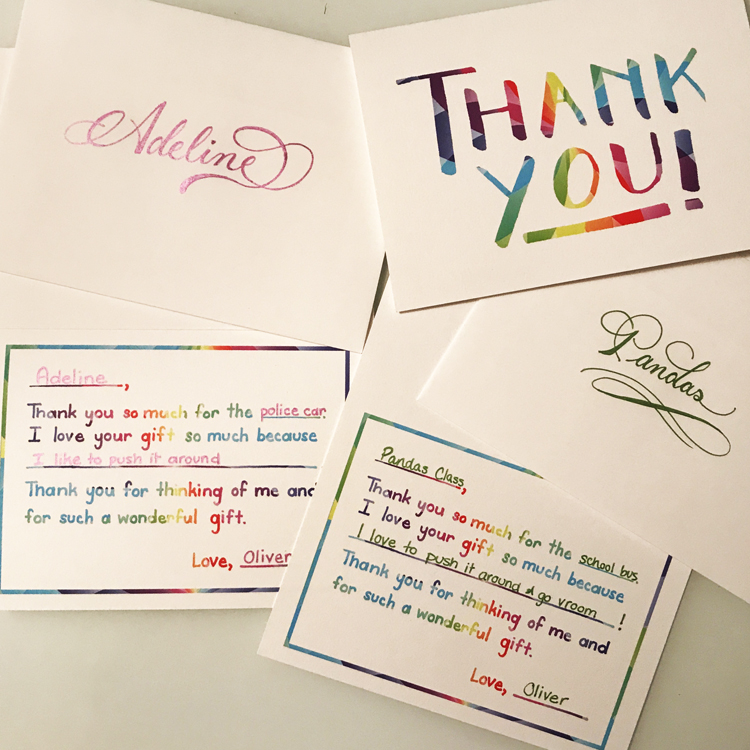 Thank You Notes \u2014 Wilde Art Co
