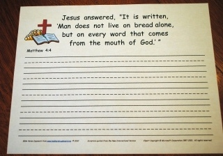 Bible Memorization Hubbard39s Cupboard