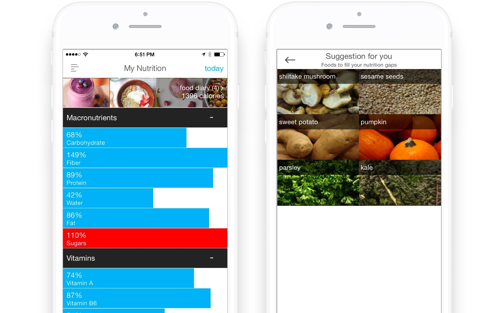 The Best Nutrition app for Vegans \u2014 Wholesome