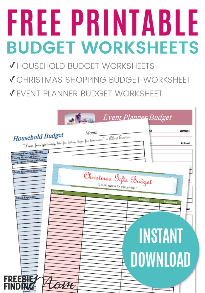 9 FREE BUDGETING RESOURCES AND TOOLS \u2014 Let\u0027s Automate Your Money - household budget tools