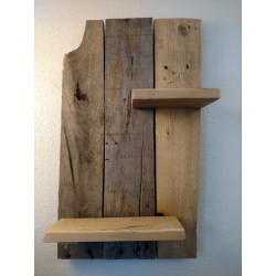 Small Crop Of Wood Wall Shelves