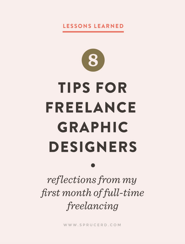 8 Tips for Freelance Graphic Designers \u2014 Spruce Rd - freelance proposal template