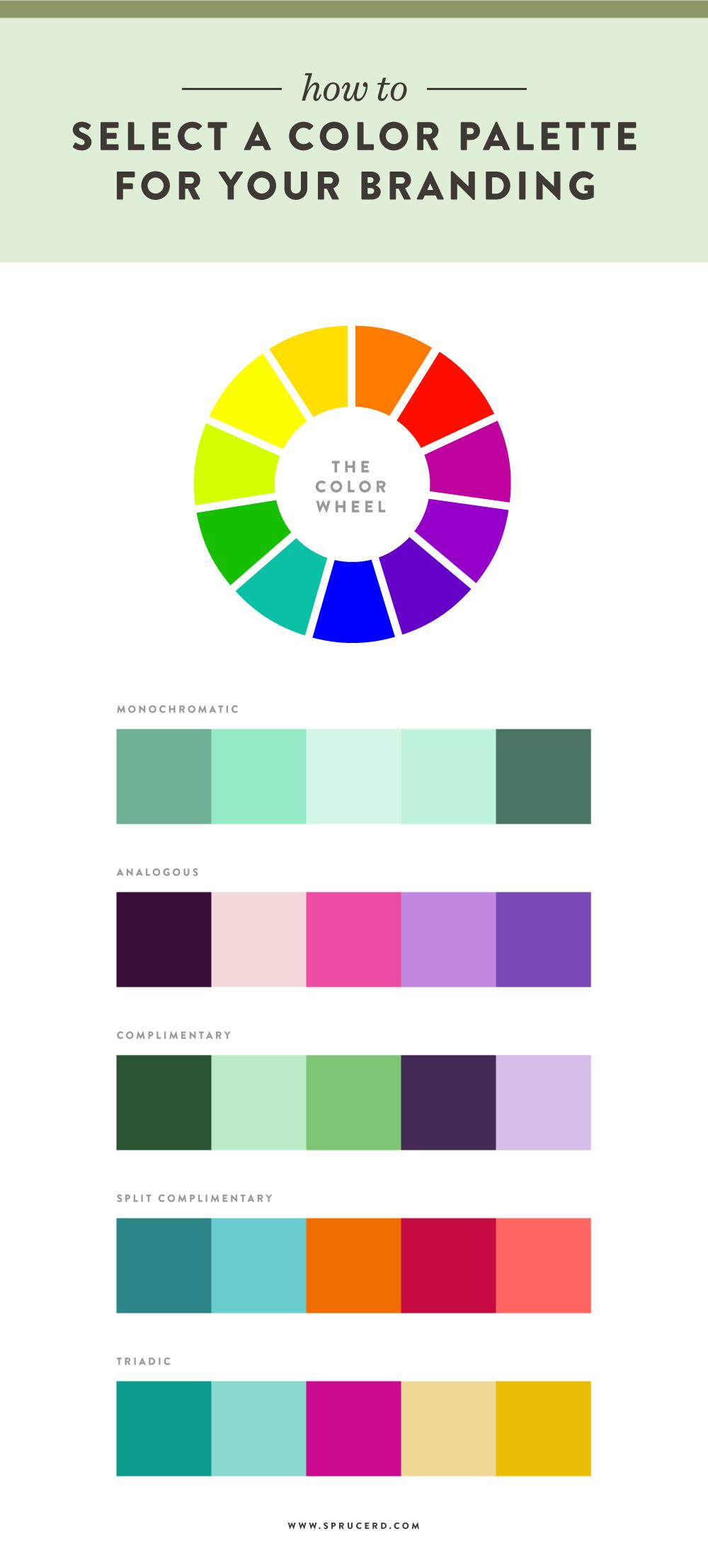 mood color wheel