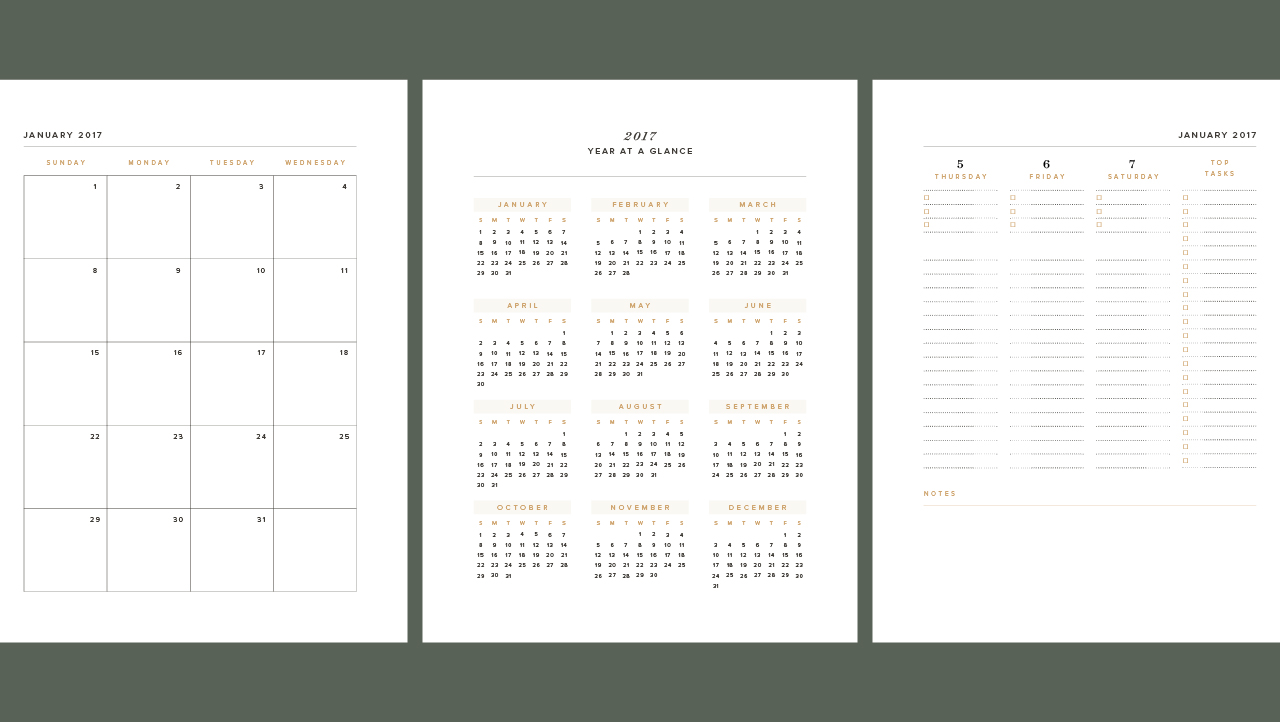 New mini-class Automating Calendars with InDesign \u2014 Spruce Rd