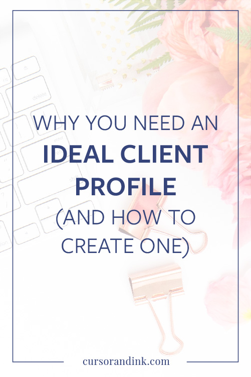 Why you need an ideal customer profile (and how to create one - customer profile