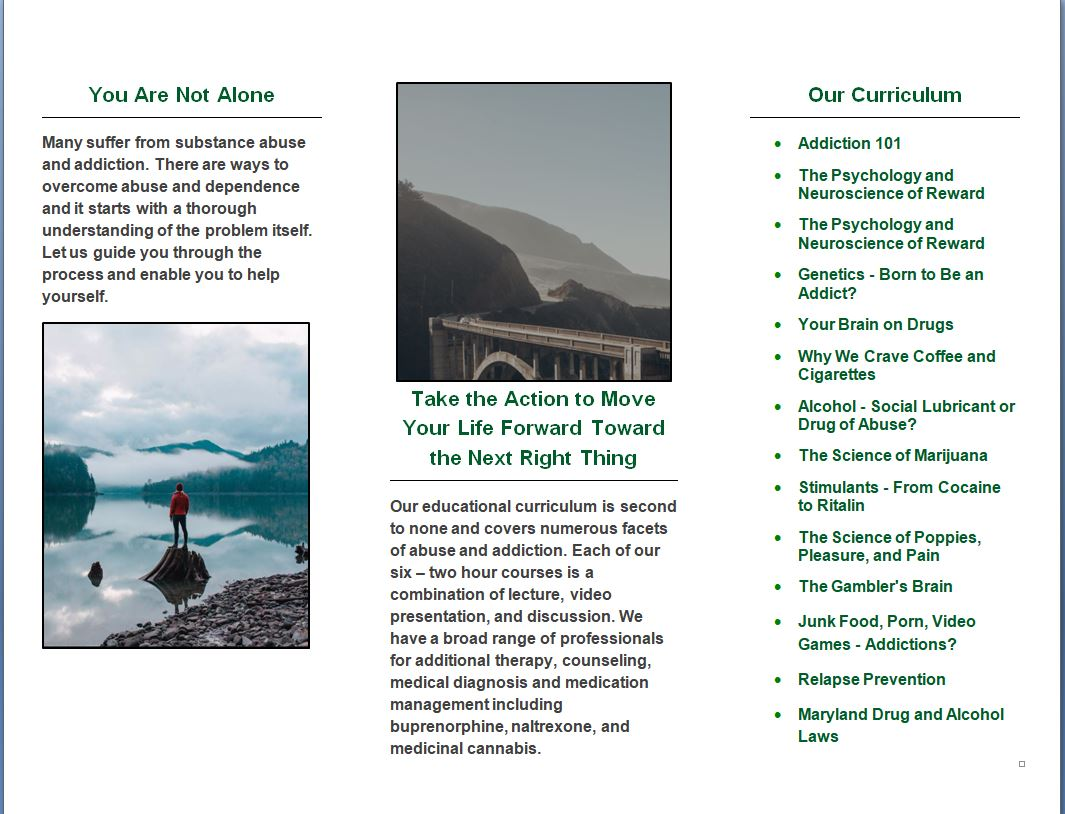 Bluegrass Mental Health, LLC-AEP Brochure