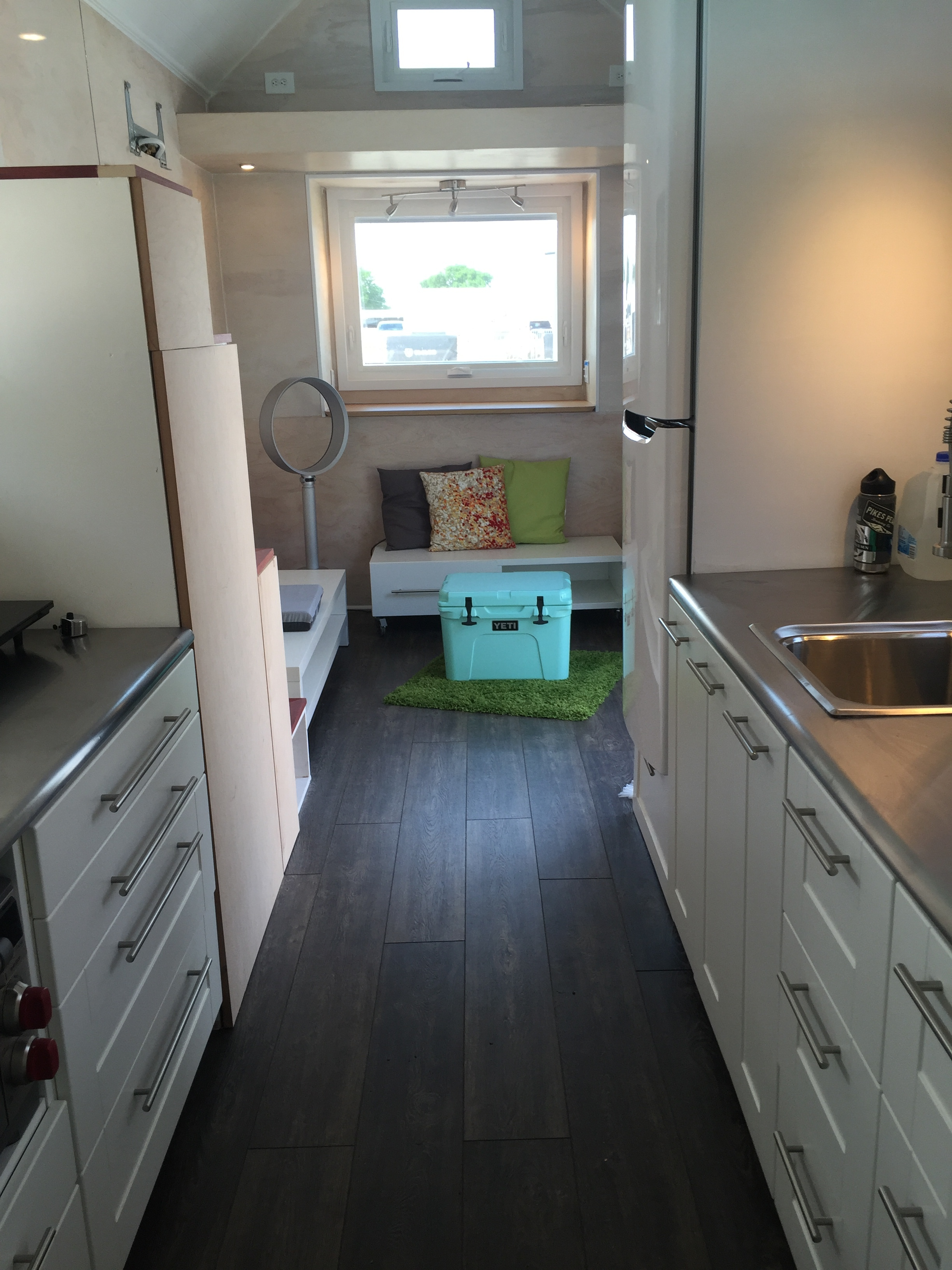 Modular Kitchen Upper Cabinets Using Ikea Cabinets In A Tiny House An In Depth Review Tiny