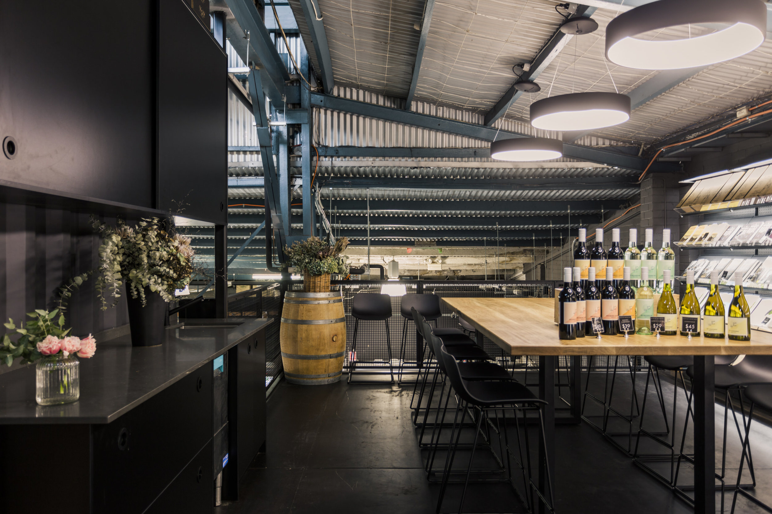 Loft Perth Wine Loft Cottesloe Wa Streater Group Commercial Fit Out