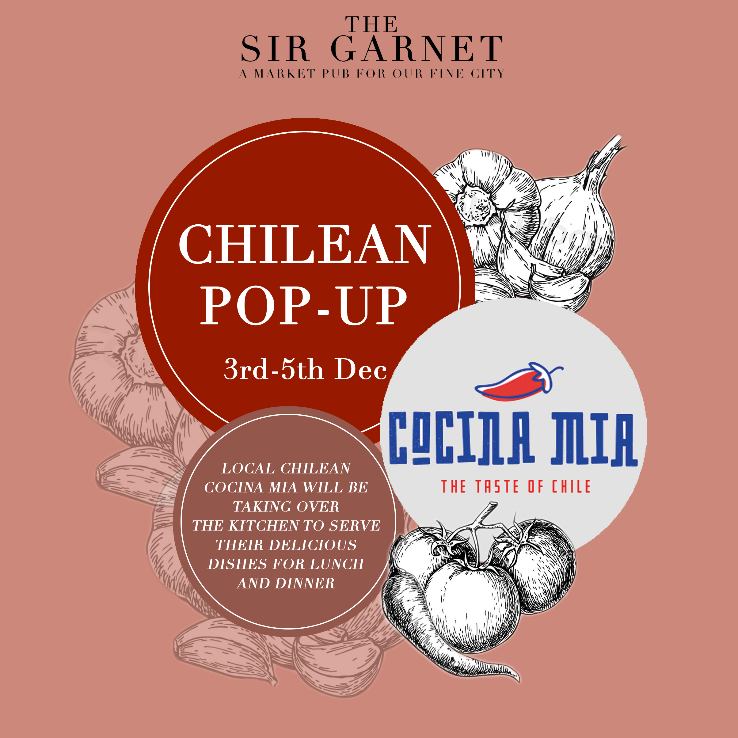 Cocina On The Market Pop Up Chilean With Cocina Mia The Sir Garnet