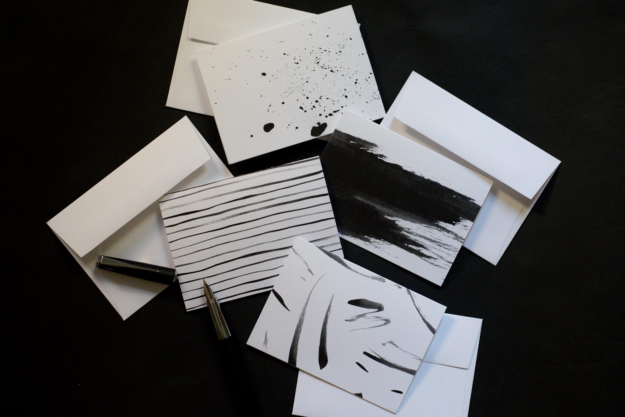 Ink Collection Notecards \u2014 Sam Teich