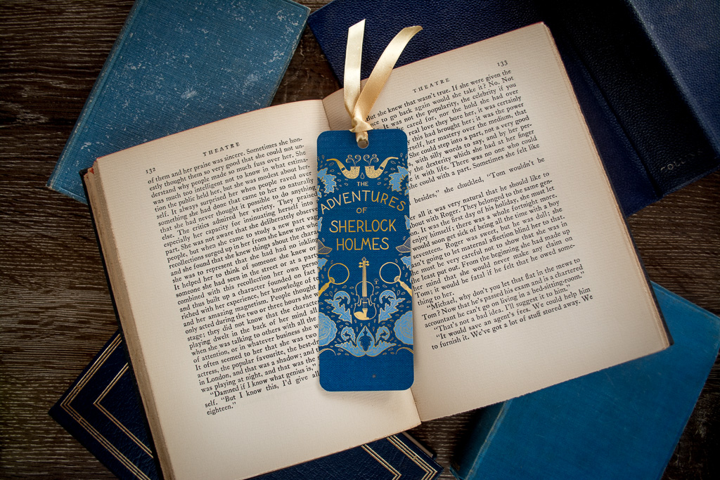 Sherlock Holmes Bookmark \u2014 Book Cover Designer Holly Dunn Design