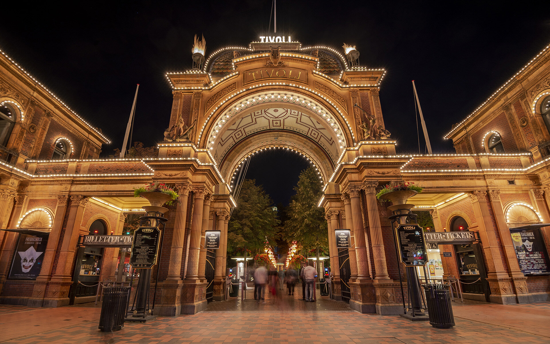 Tivoli Gardens Nighttime Magic Westcoaster