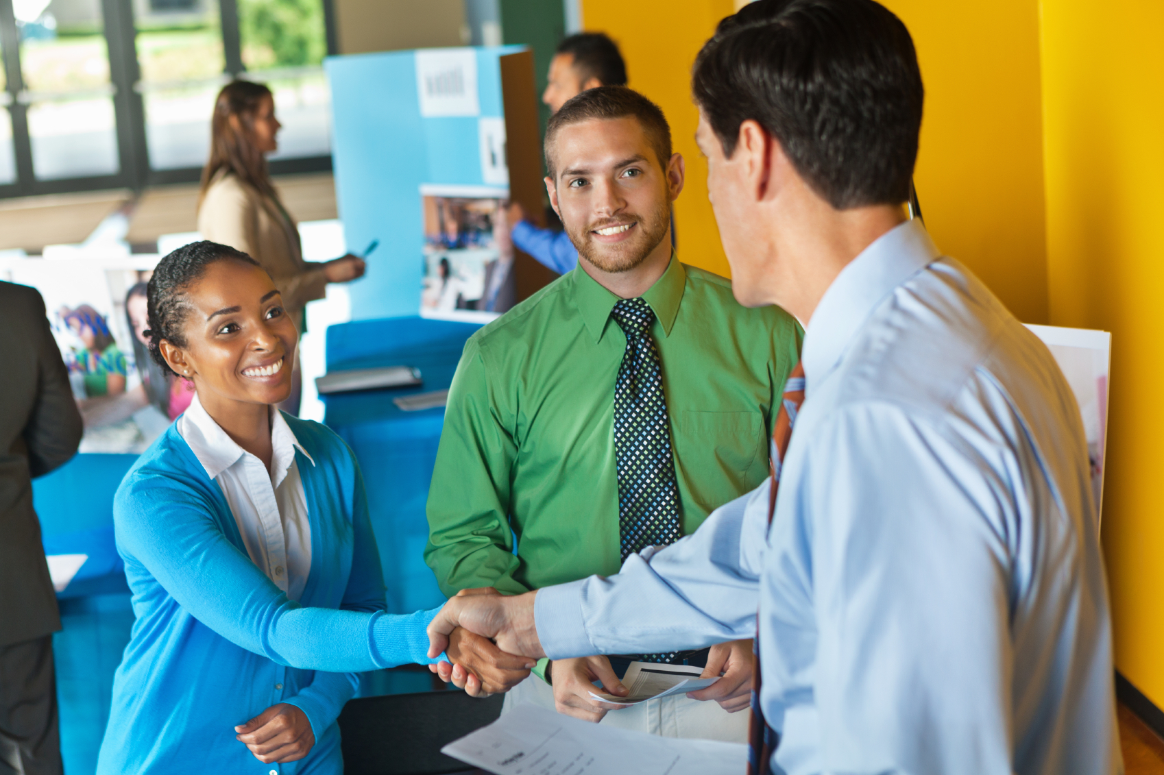 How to Prepare for a Job Fair \u2014 service first