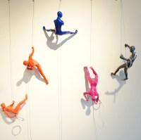 Xanadu Gallery Presents Wall Climbers By Ancizar Marin