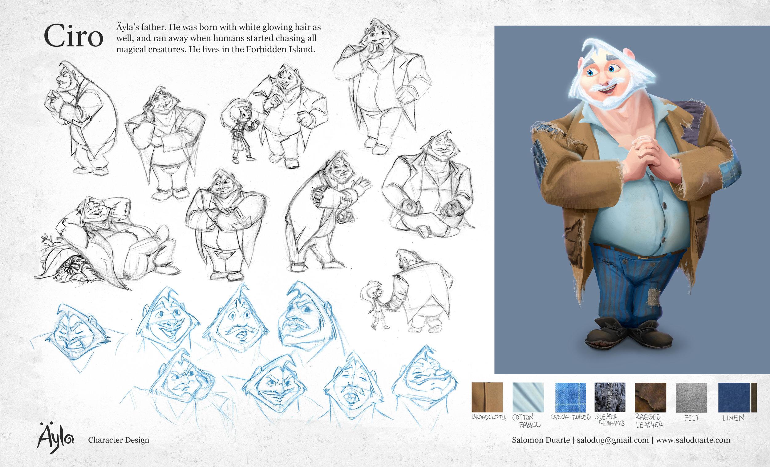 Character Design \u2014 Salomon Duarte