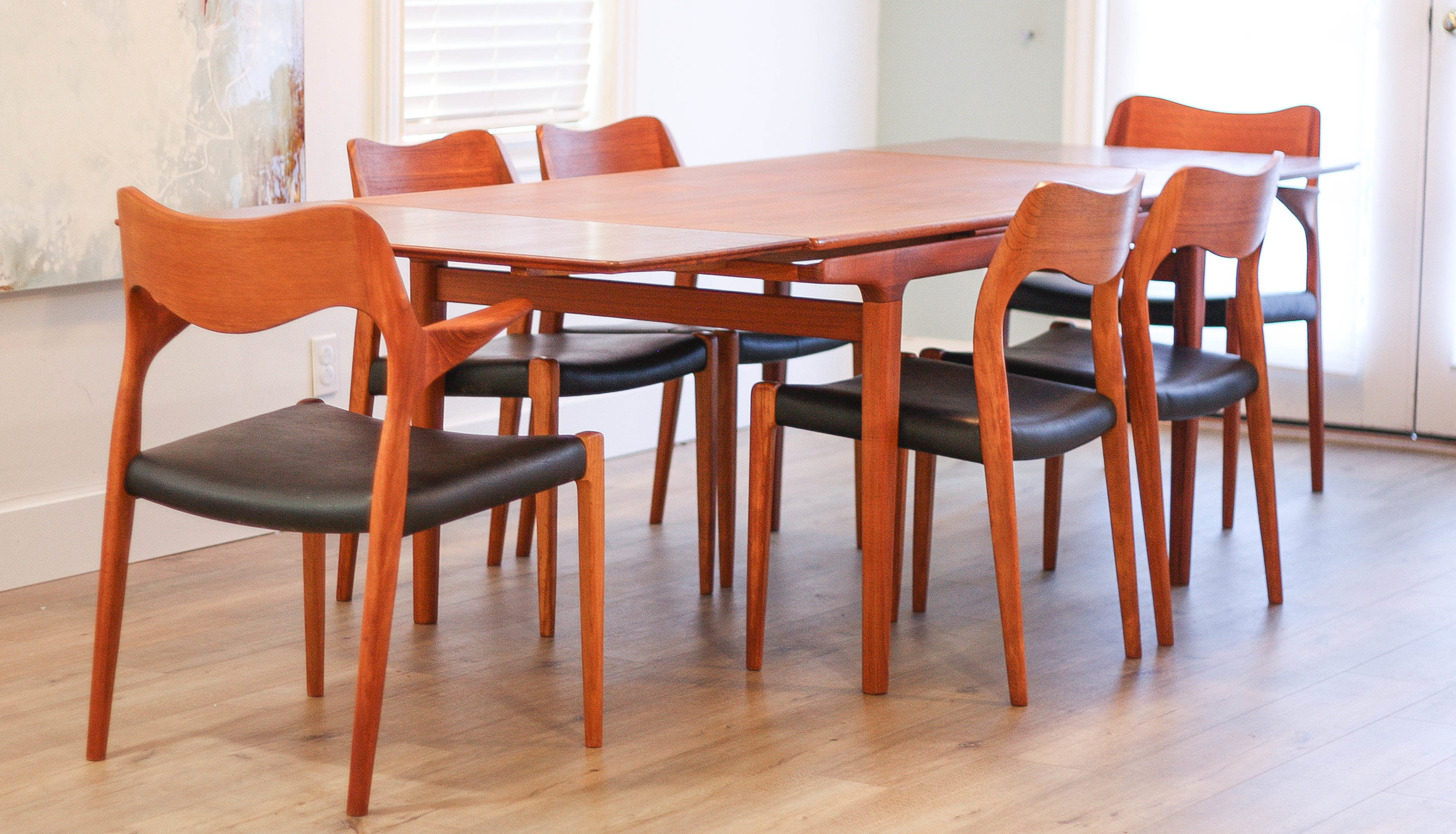 Dining Table Seating 10 Johannes Andersen Teak Extension Dining Table Seats 10 Sold