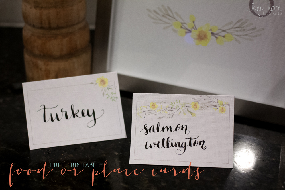 free thanksgiving cards to print