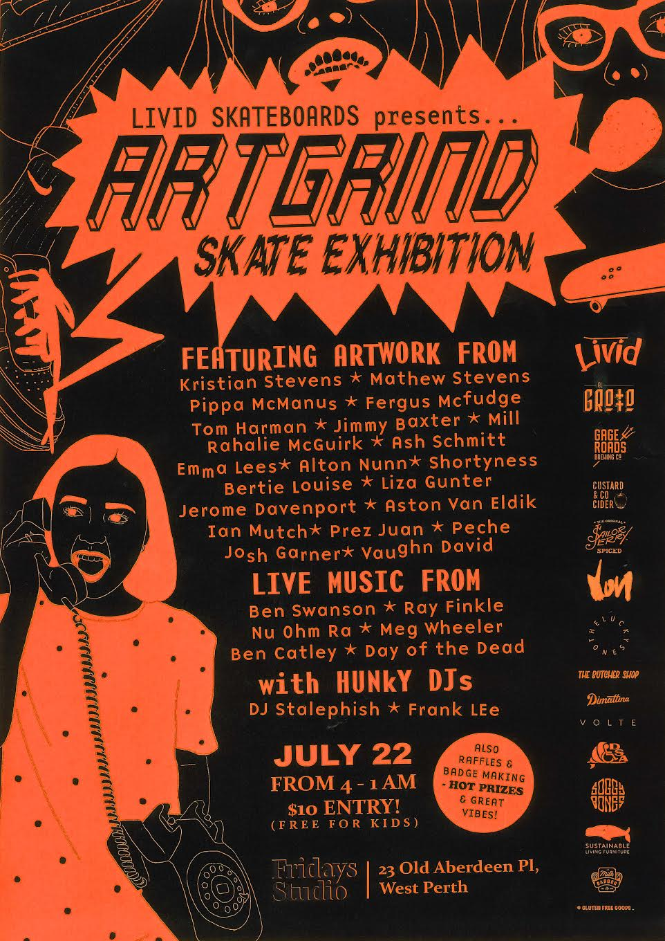 Studio Van Eldik Events Livid Skate Art Grind Exhibition Fridays Studio