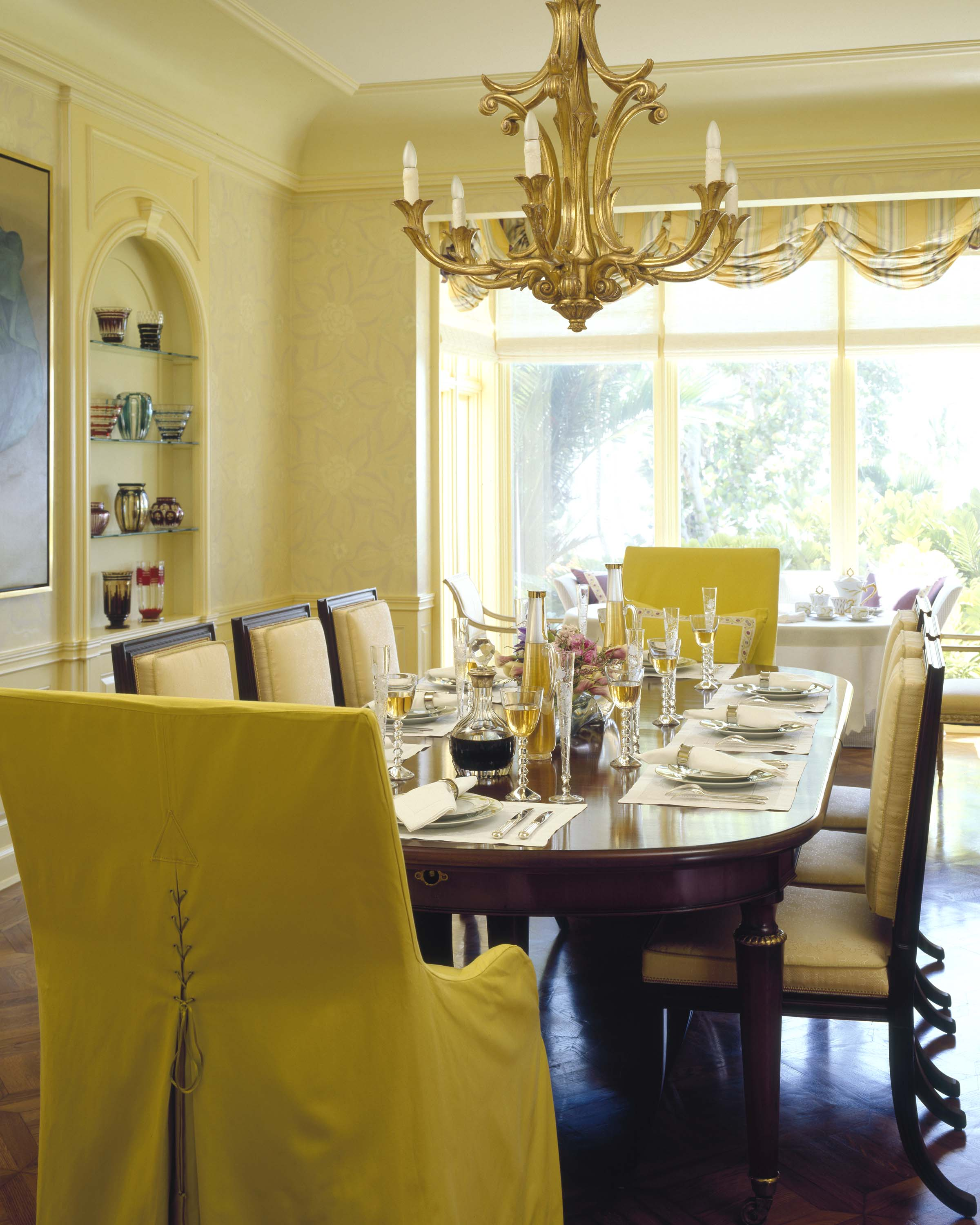 Yellow Dining Room Walls Arcadian Home Guest Post Dining Rooms Avanzato Design