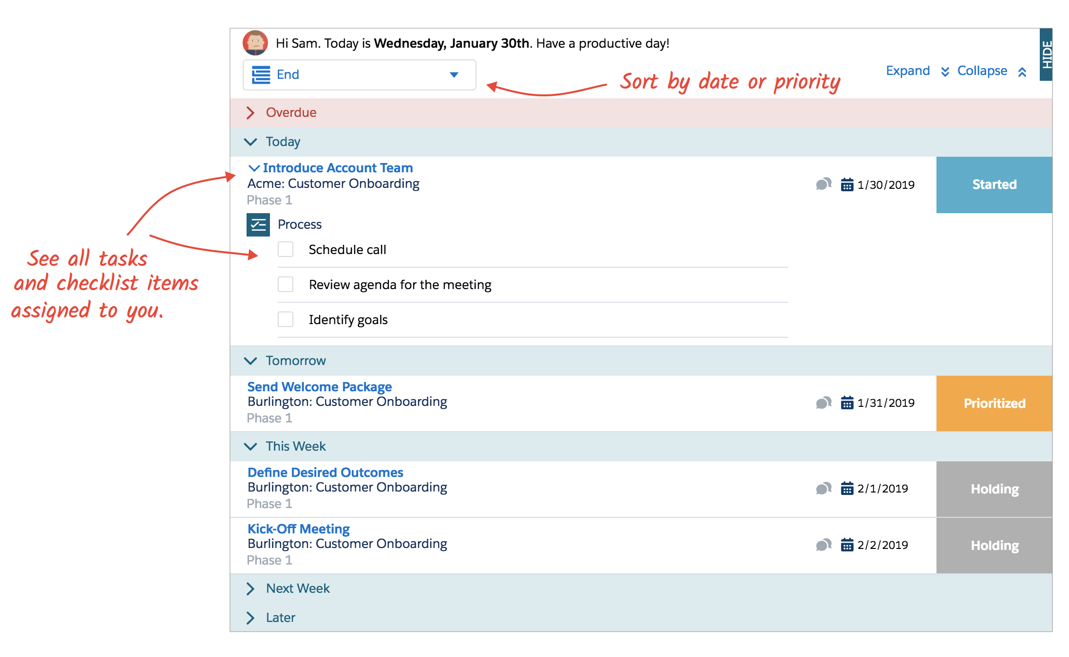 March 2019 Release Your personalized TaskRay to-do list \u2014 TaskRay