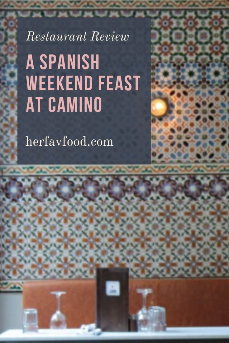 Camino Menu London A Spanish Weekend Feast To Brighten Up Your Spring Her
