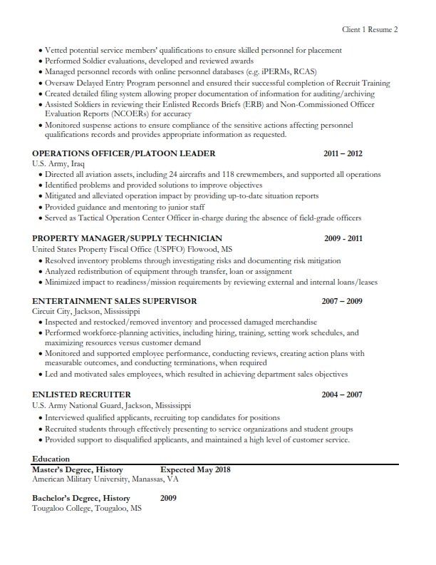 COACHED BY C4- My Work - Logistics Readiness Officer Sample Resume